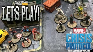 Let's Play! - MARVEL: CRISIS PROTOCOL by Atomic Mass Games