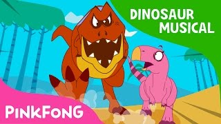 The Diary of T-Rex, the Hunter | Dinosaur Musical | Pinkfong Stories for Children