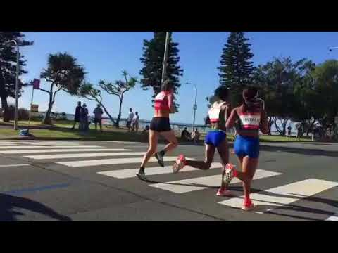 Commonwealth games marathon Gold Coast 2018