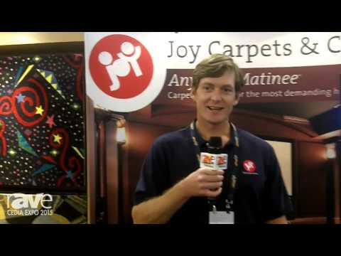 CEDIA 2015: Joy Carpets Shows Off Its 2015 Line of Home Theater Carpeting