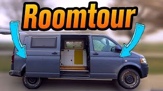 VW T5 4Motion Roomtour |  MohnWobil