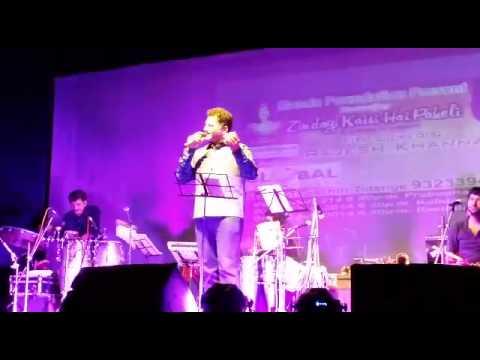 Main shayar badnam at prabhodhankar thakre auditorium borivali...