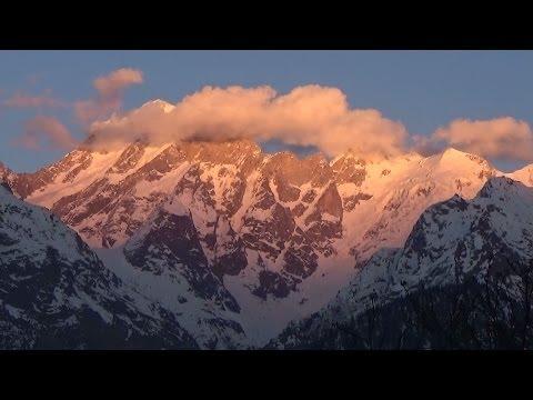 Kinnaur Kailash Peak & Shivling View Till Sunset HD - Kalpa, Himachal Pradesh