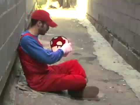 Mario Bros Game Over