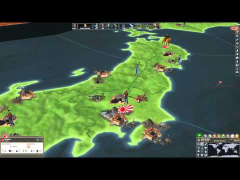 Making History 2: War of the World Gameplay and Tutorial