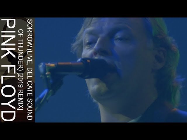 """Pink Floyd - """"Sorrow (Live, Delicate Sound Of Thunder) 2019 Remix""""のライブ映像を公開 新譜「The Later Years (1987-2019)」5CD/6Blu-Ray/5DVD/7inchx2 ボックスセット 2019年12月13日発売予定 thm Music info Clip"""