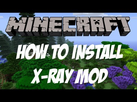 Minecraft 1.6.1    X-RAY Mod (Tutorial + Download)