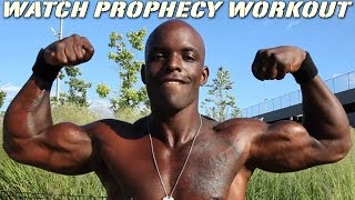 Prophecy Workout - The Bar Heavyweight™ - Push-Up Your Game - (Part 4) - [HD]