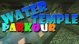 WATER TEMPLE PARKOUR (minecraft pack race)