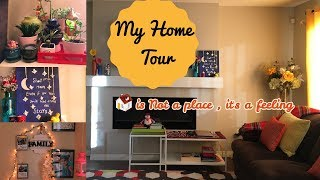Indian (NRI) Home Tour I House tour and decoration Ideas I Happy Home Happy Life