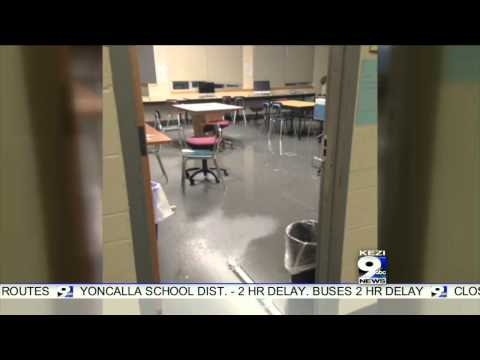 Pipes Burst at Cottage Grove High School