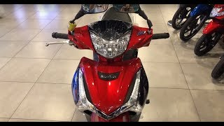 Honda Wave 125i New 2019 - walkaround (Red & Black)