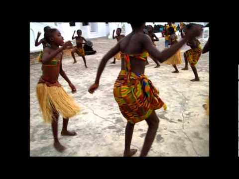Freespirit Dance Group - children from Ghana