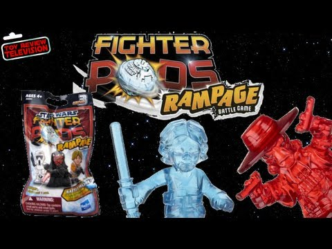 Hasbro Star Wars Fighter Pods Rampage Series 3 Blind Bags Review