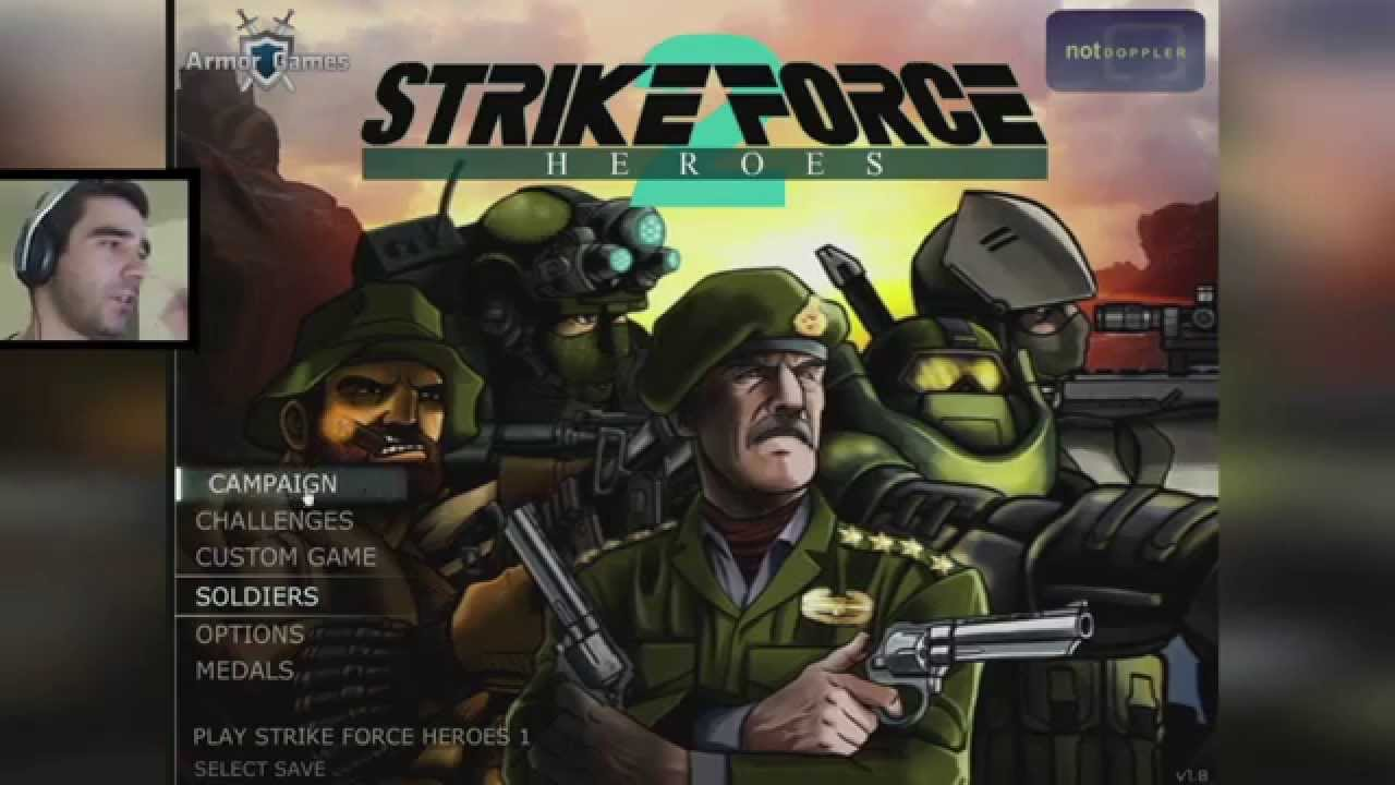 Darmowe gry online strike force heroes 2 doktorek youtube