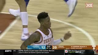 Kansas vs Texas Men's Basketball Highlights