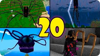 TOP 20 MONSTRUOS MOBS EN MINECRAFT - MINECRAFT MODS