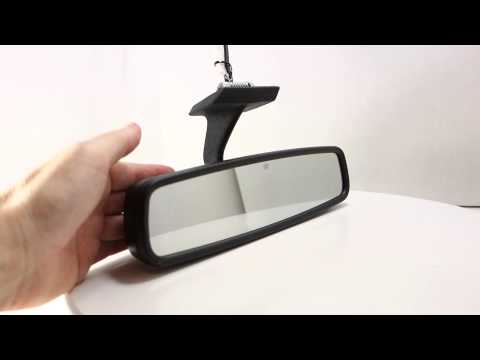 mercedes w124 w201 auto dimming rear view mirror with. Black Bedroom Furniture Sets. Home Design Ideas