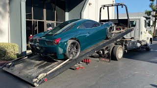 Ferrari GT3 458 Reassembly!