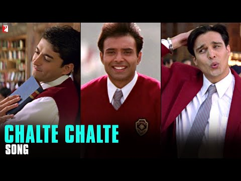 Chalte Chalte - Song - Mohabbatein video