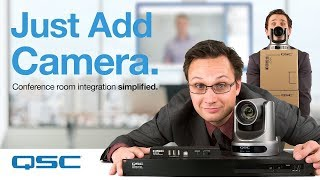"""Just Add Camera"" - (Q-SYS Conferencing Solution)"