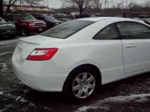 2007 Honda Civic LX, 2 door coupe, 1.8 liter 4cyl, LOADED, 71,000 Miles, warranty!!! - YouTube