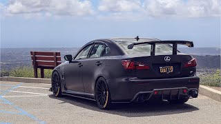 Lexus ISF gets big wing + more!