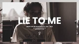 Lie to Me - Free Guitar Rap Beat (Prod. by Blunted Beatz)