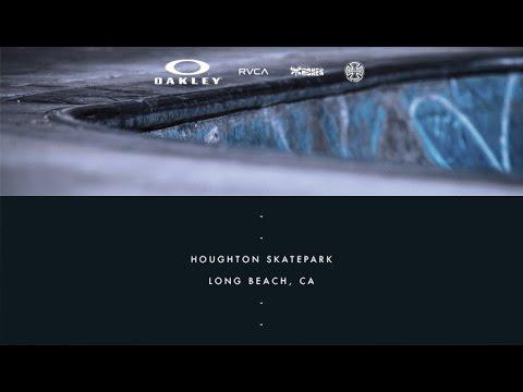 David Gonzalez   On Location: Houghton Skatepark - Long Beach, CA