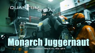 Quantum Break Defeat The Monarch Juggernaut Gameplay
