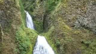 Historic Columbia River Highway and Waterfalls