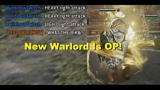 The Return Of The No Mix-up, Mix-up Warlord Pro [For Honor]