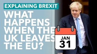 31st January: What Happens When The UK Leaves the EU? - Brexit Explained