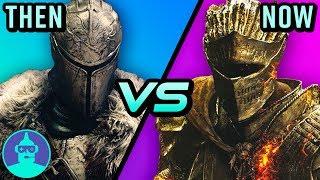 Dark Souls 2 vs Dark Souls 3 - Then vs. Now - Which is better? | The Leaderboard