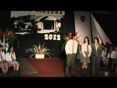 RENAICO LICENCIATURA 2012  LICEO POLITECNICO DOMINGO SANTA MARÍA