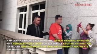 MAHB GM remanded over alleged RM80,000 skin, slimming treatments