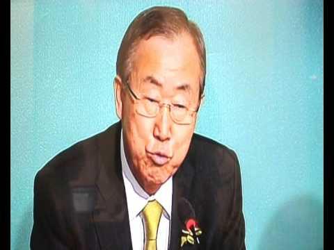 Ban Ki Moon in cop 19