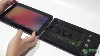 Sony Xperia Tablet Z vs. Google Nexus 10!