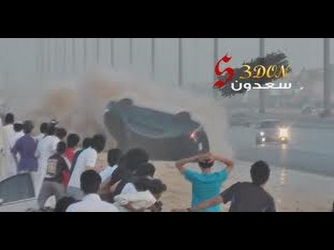 Compilation of SAUDI DRIFT ACCIDENTS drifting car crashes BEST clips in one 9 min video! Wypadki