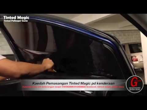 Kaedah Pemasangan Siap Potong Tinted Magic Globe Store