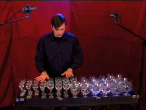 Glass harp-Dance of the sugar plum fairy-Tchaikovsky