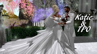 Katie and TPO Second Life wedding