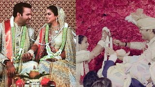 Isha Ambani-Anand Piramal get married, Varmala video goes viral
