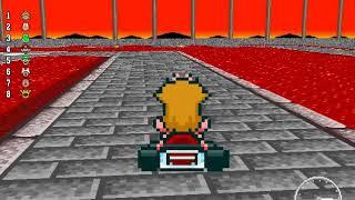 New Super Mario Kart - 50cc Flower Cup (Unlocking Wario)
