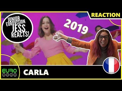 FRANCE JUNIOR EUROVISION 2019 REACTION: Carla - Bim Bam Toi | JESS REACTS!