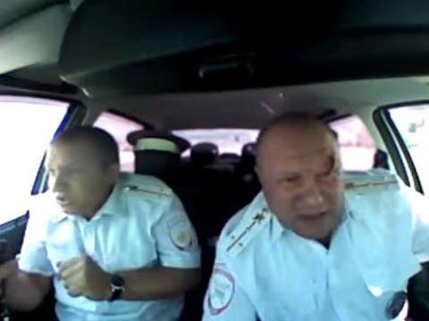 В Волгоградской области в ходе погони и перестрелки был ранен инспектор ДПС