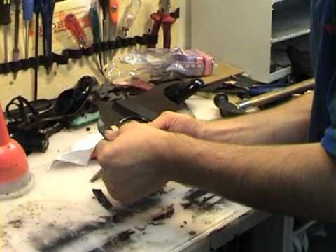 Мастер класс ремонт обуви