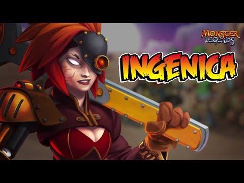LA INGENIOSA INGENICA !! Review Monster Legends