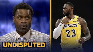Stephen Jackson doesn't think LeBron missing the playoffs will taint his legacy | NBA | UNDISPUTED