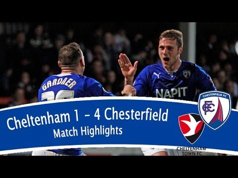 Cheltenham Town 1-4 Chesterfield